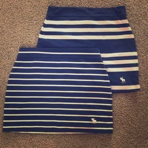 Abercrombie & Fitch Mini summer skirts (2) size XS